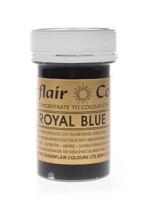 Sugarflair Paste Colours -ROYAL BLUE -Χρώμα σε Πάστα -Βασιλικό Μπλε 25γρ