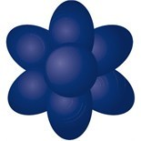 Sugarflair Paste Colours -NAVY BLUE -Χρώμα σε Πάστα - Ναυτικό Μπλε