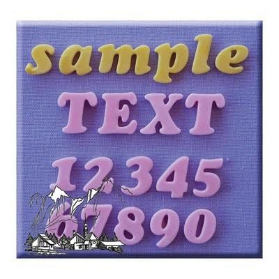 SALE!!! Alphabet Moulds -COOKIE ALPHABET & NUMBERS -Καλούπι Σιλικόνης Αλφάβητο & Αριθμοί