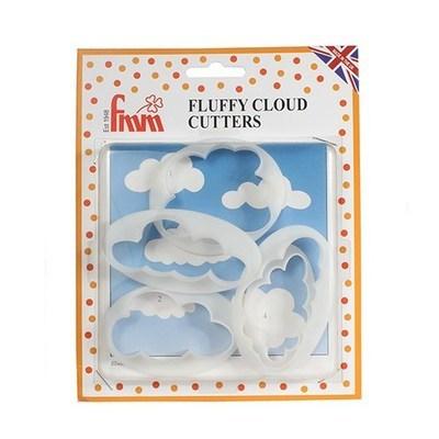 FMM Cutters -FLUFFY CLOUD - Σετ 5τεμ Κουπ πατ Αφράτο Συννεφάκι