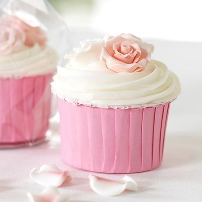 Baked With Love Baking Cups -PINK - Κυπελάκια Ψησίματος Ροζ 24 τεμ