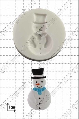 SALE!!! FPC -Silicone Mould -SNOWMAN -Καλούπι Σιλικόνης Χιονάνθρωπος