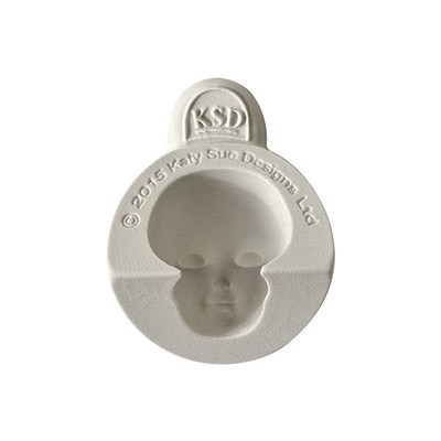 Katy Sue Silicone Mould -HEAD SET A -Καλούπι Σιλικόνης Κεφάλι σετ Α