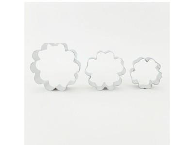 SALE!!! Blossom Art Cutters SET of 3 FLEUR FLOWERS -Μικρά Κουπ πατ Λουλουδιών 3 τεμ