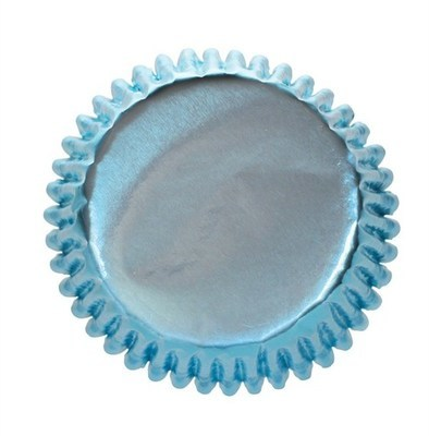Culpitt Cupcake Cases -METALLIC ICE BLUE - Θήκες Ψησίματος -Μεταλλικό Μπλε του Πάγου 45 τεμ