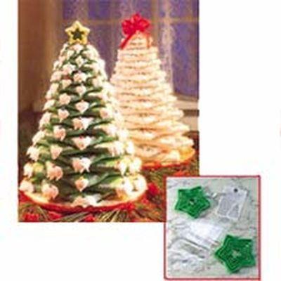 Wilton Christmas COOKIE TREE KIT -Κιτ με 15τεμ κουπ πατ για Χριστουγεννιάτικο Μπισκοτόδεντρο