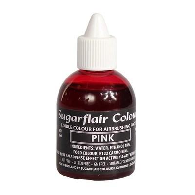 Sugarflair Airbrush Colour -MATT PINK -Χρώμα Αερογράφου 60ml Ματ Ροζ