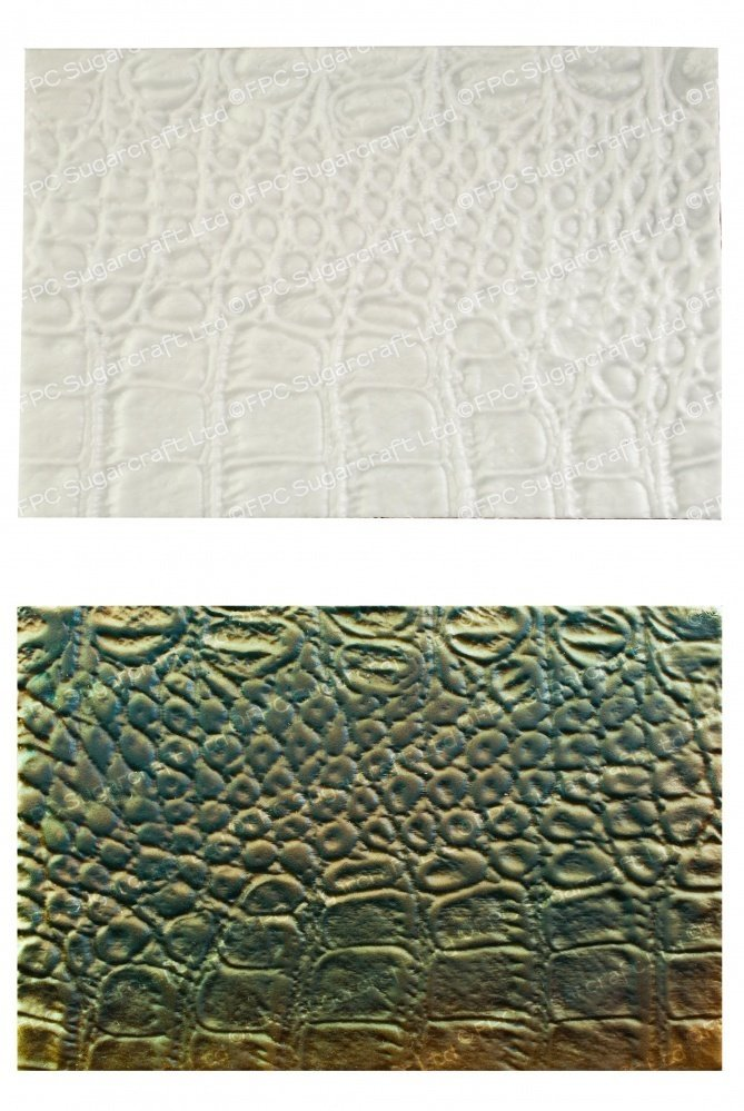 FPC Silicone Texture Mat -ALLIGATOR SKIN -Καλούπι Σιλικόνης Δέρμα Αλιγάτορα