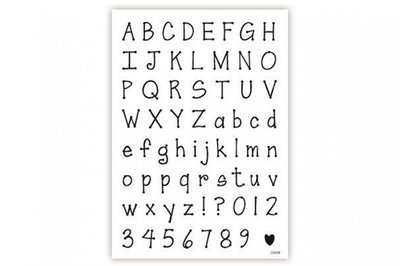 SALE!!! impressit™ Alphabet & Numbers Dotty - Αλφάβητος & Νούμερα - Ντότι