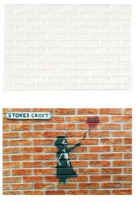 FPC Silicone Texture Mat -BRICK WALL -Καλούπι Τοίχος από τούβλα