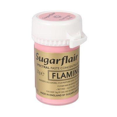 Sugarflair Paste Colours -FLAMINGO -Χρώμα σε Πάστα Ροζ φλαμίνγκο 25γρ