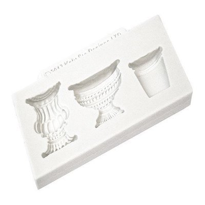 Katy Sue Silicone Mould -POTS and URNS -Καλούπι Σιλικόνης Γλάστρες