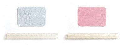 JEM Tools -2 Patterned Rolling Pins -FABRIC TEXTURE & FLORAL DRAPE - Σετ 2τεμ Ανάγλυφοι Πλάστες Ύφασμα & Λουλούδια ∞