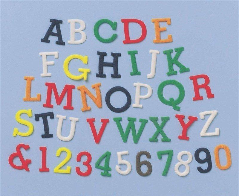 FMM Alphabet Tappit -SIMPLE -UPPERCASE & Numbers - Κουπ πατ Λατινικό Αλφάβητο - Κεφαλαία Γράμματα & Αριθμοί