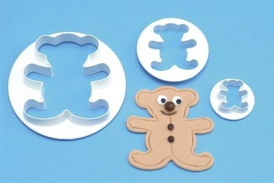 SALE!!! PME Cutters -Set of 3 -TEDDY BEARS - Σετ 3τεμ Κουπ πατ Αρκουδάκια