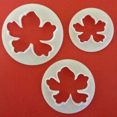 FMM Flower Cutters -HAWAIIAN Flower - Σετ 3τεμ κουπ πατ Χαβανέζικο Άνθος
