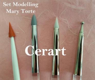 SALE!!! Cerart Set of 4 Mary Presicci Modelling Tools -Εργαλεία Σχεδιασμού 4 τεμ.
