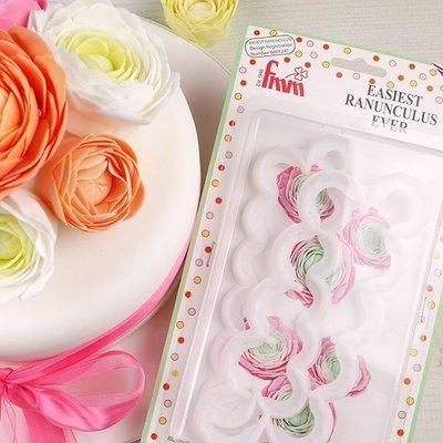 FMM Flower Cutters -THE EASIEST RANUNCULUS - Σετ 2τεμ κουπ πατ Νεραγκούλα