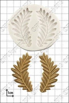 FPC Silicone Mould -FERN FRONDS -Καλούπι Φύλλα Φτέρης
