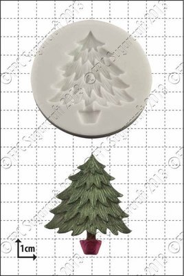 FPC Silicone Mould -XMAS TREE -Καλούπι Σιλικόνης Χριστουγεννιάτικο Δέντρο