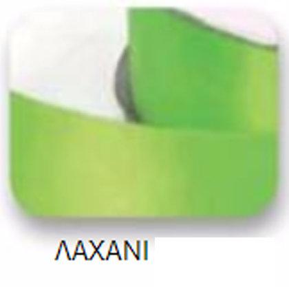 Ribbons - 3.5mm Satin Ribbon Pale Green Double Faced 100m - Κορδέλα Σατέν Διπλής Όψης Λαχανί