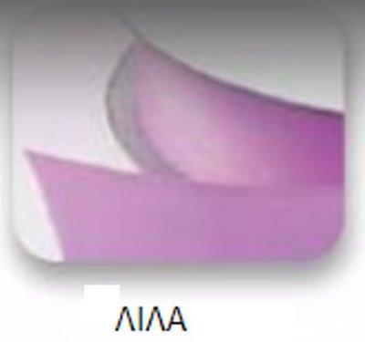 Ribbons - 3.5mm Satin Ribbon Lilac Double Faced 100m - Κορδέλα Σατέν Διπλής Όψης Λιλά