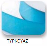 Ribbons - 3.5mm Satin Ribbon Turquoise Double Faced 100m - Κορδέλα Σατέν Διπλής Όψης Τιρκουάζ