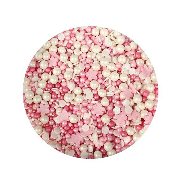 Purple Cupcakes Sprinkle Mix -PETAL MIX - Μείγμα Ζαχαρωτών Χρώματα Πετάλων Λουλουδιών 100γρ