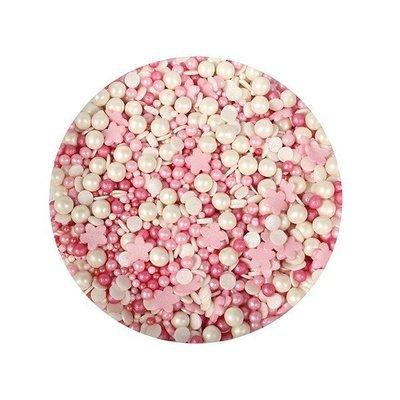 Purple Cupcakes Sprinkle Mix -PETAL MIX - Μείγμα Ζαχαρωτών Χρώματα Πετάλων Λουλουδιών 100γρ ∞