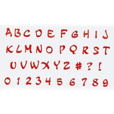 FMM Alphabet Tappit -MAGICAL UPPERCASE & Numbers - Κουπ πατ Λατινικό Αλφάβητο -Μεγάλα Γράμματα & Αριθμοί