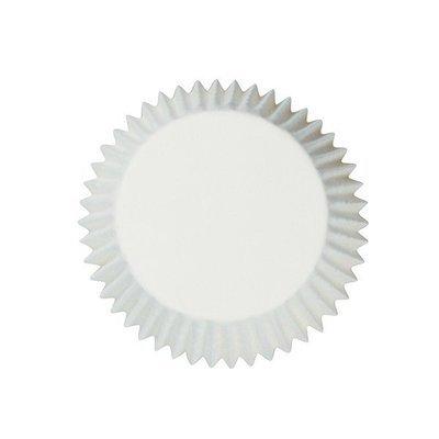 Cake Star Cupcake Cases -PLAIN WHITE - Θήκες Ψησίματος - Λευκές 54 τεμ