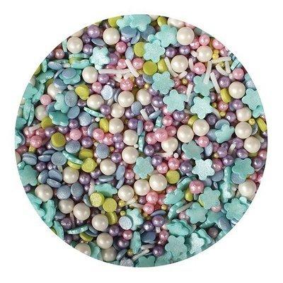 Purple Cupcakes Sprinkle Mix -MERMAID MIX -100γρ -Μείγμα Ζαχαρωτών Χρώματα της Γοργόνας ∞