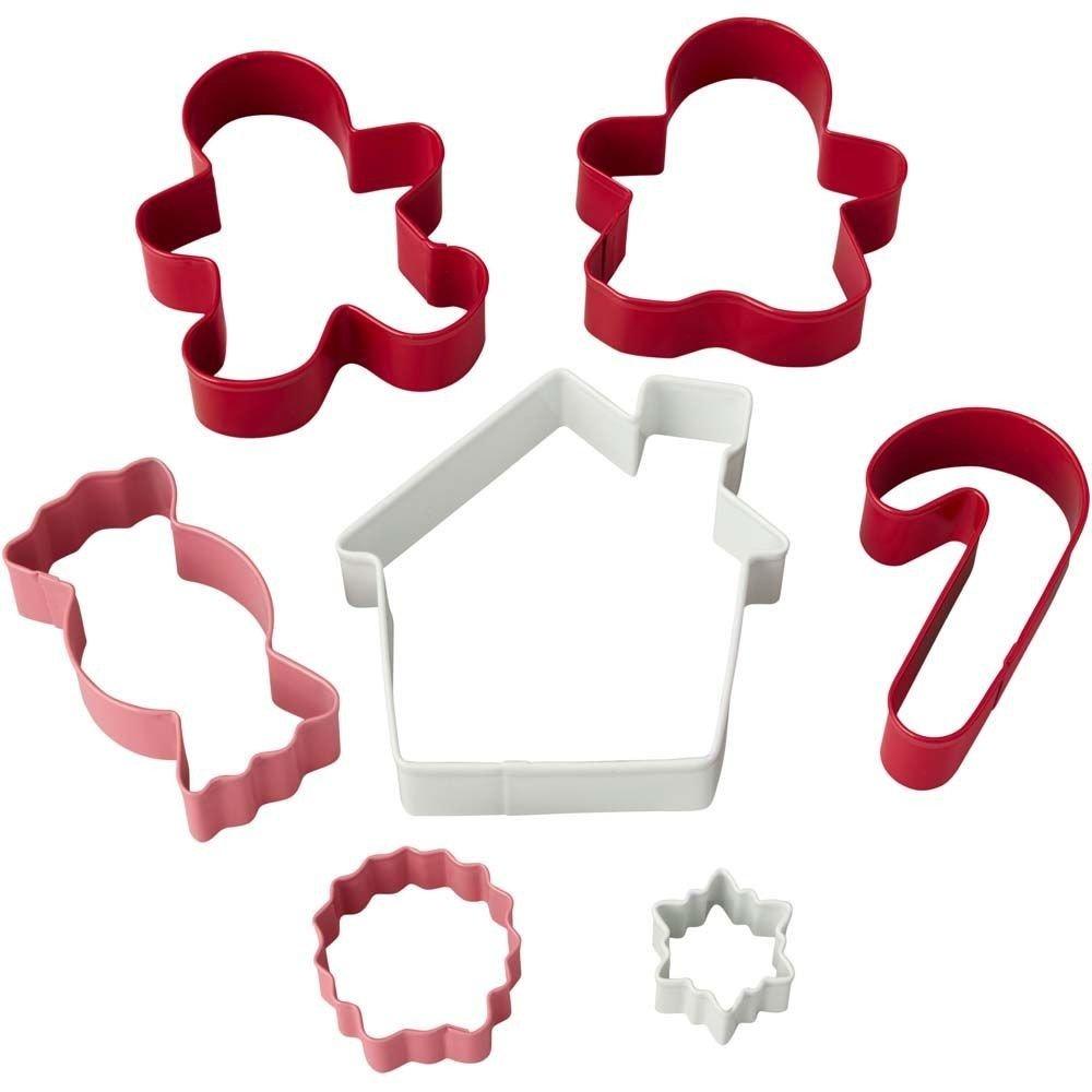 Wilton Christmas Cookie Cutter Set of 7 -CANDY SHOP - Σετ 7τεμ Χριστουγεννιάτικα Κουπ πατ
