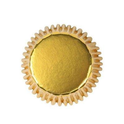 Culpitt BULK Cupcake Cases - METALLIC GOLD -Αλουμινένιες Θήκες Ψησίματος -Μεταλλικό Χρυσό 495 τεμ