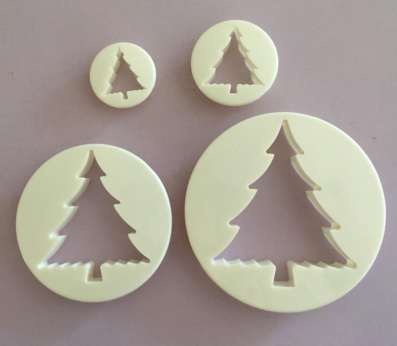 #Cutter - Tree Cutters 4pcs - Σετ 4τεμ κουπ πατ Έλατο