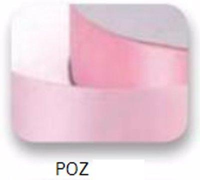 Ribbons - 6.5mm Pink Double Faced Satin Ribbon 100m - Κορδέλα Σατέν Διπλής Όψης Ροζ