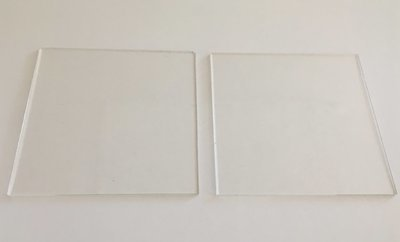 Cakes By Samantha Ganaching Plates -SQUARE 10cm Τετράγωνες Βάσεις/Πιάτα  για Επικάλυψη Τούρτας με Γκανάς -10εκ -2 τεμ