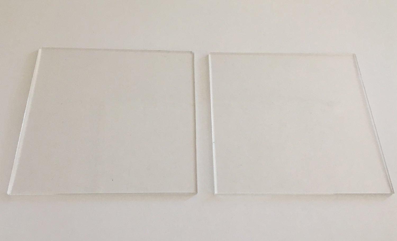 Cakes By Samantha Ganaching Plates -SQUARE 23cm Τετράγωνες Βάσεις/Πιάτα  για Επικάλυψη Τούρτας με Γκανάς -23εκ -2 τεμ