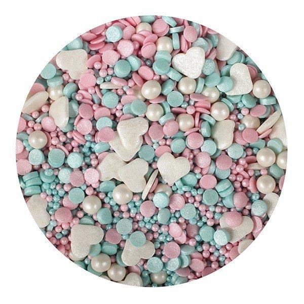 Purple Cupcakes Sprinkle Mix -UNICORN MIX -100γρ Ανάμεικτα Ζαχαρωτά  Χρώματα Μονόκερου