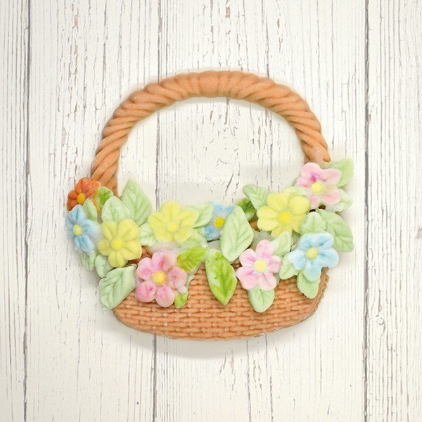 SALE!!! Katy Sue Silicone Mould -BASKET & FLOWERS -Καλούπι Σιλικόνης Καλάθι & Λουλούδια