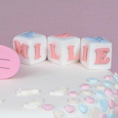Cake Star Push Easy Cutters ALPHABET -MINI UPPERCASE - Σετ 26τεμ κουπ πατ Μίνι Κεφαλαία Γράμματα