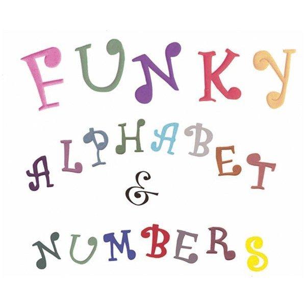 FMM Alphabet Tappit -FUNKY UPPERCASE & Numbers - Κουπ πατ Λατινικό Αλφάβητο - Κεφαλαία Γράμματα & Αριθμοί