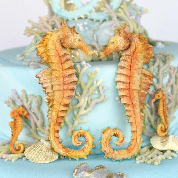 Katy Sue Silicone Mould -SEAHORSES -Καλούπι Σιλικόνης  Ιππόκαμποι