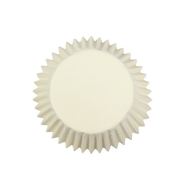 Cake Star Cupcake Cases -PLAIN IVORY -Θήκες Ψησίματος - Ιβουάρ 54 τεμ