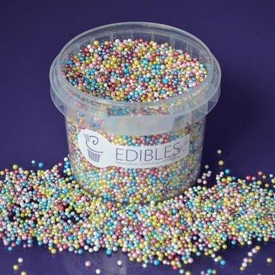 Purple Cupcakes Nonpareils -MULTI COLOURED SHIMMER - Κας-Κας Γυαλιστερό Πολύχρωμο 100γρ