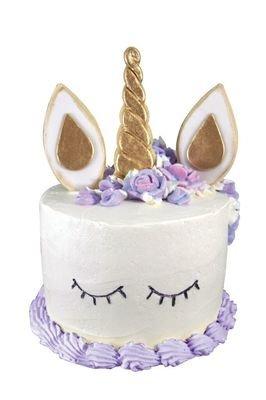 By AH -Set of 5 Cookie Cutters -UNICORN CAKE DECORATING KIT - Σετ 5 κουπ πατ με θέμα  Μονόκερο