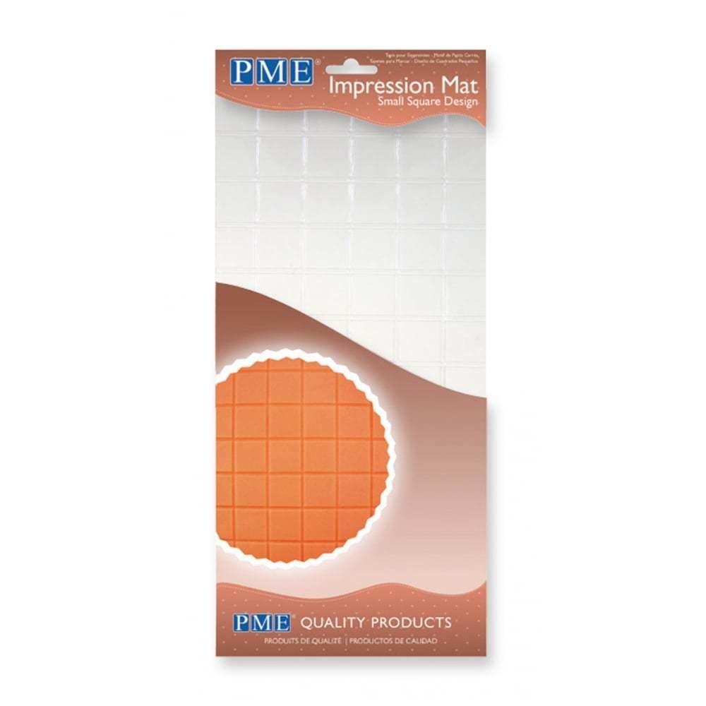 SALE!!! PME Impression Mat -SMALL SQUARE -Πατάκι Αποτύπωσης Σχεδίου Μικρό Τετράγωνο
