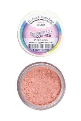 Rainbow Dust Edible Dust -Matt PINK CANDY -Βρώσιμη Σκόνη Ροζ Ζαχαρωτό