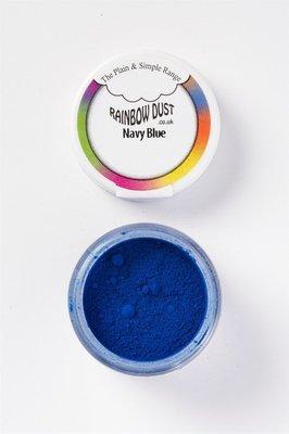 Rainbow Dust Edible Dust -Matt NAVY BLUE -Βρώσιμη Σκόνη Ματ Ναυτικό Μπλε