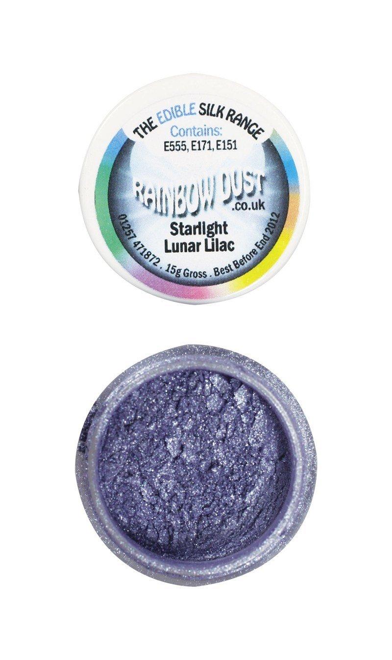 Rainbow Dust Edible Dust -Starlight LUNAR LILAC -Βρώσιμη Σκόνη Αστραφτερό Σεληνιακό Λιλά